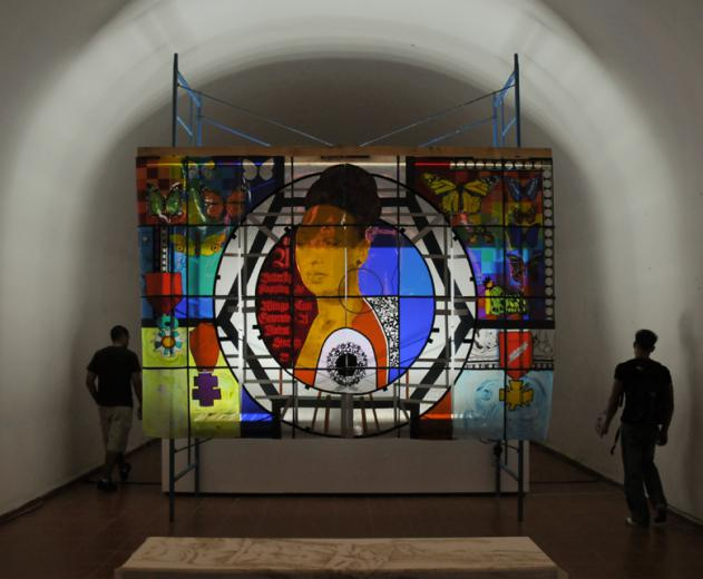 Shrine of the Divine Negress, Havana Bienniale installation (Foto:Adi Martis,NL)