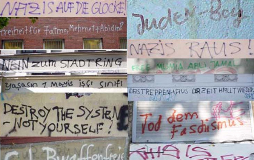 Source texts, Berlin Street photographic survey